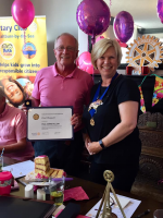 The First Lady of Saltburn Rotary