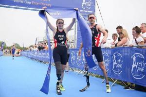 Hannah Moore and Andy Lewis take gold