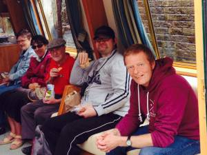 Eight Bells for Mental Health Barge Trip 2014