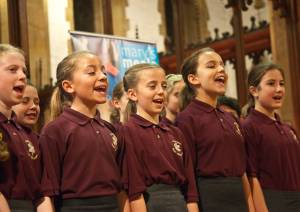 Children Sing for Mary's Meals