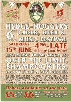 Hedge-Hoggers Cider, Beer & Music festival