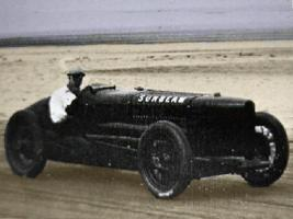 Sir Henry Seagrave's World Speed Record attempt at Southport 1926