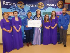 Check presentation for the Herring Queen Festival