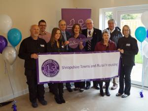 Official Opening of Hignett Place, Oswestry, May 2015