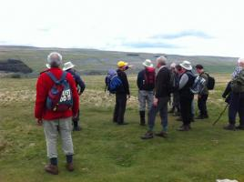 Hike and Quoits with visiting Rotary Club