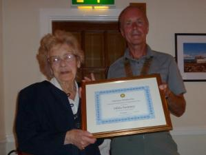 Hilda Swinney - Honorary Member