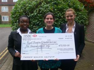 HOCKERILL STUDENTS RAISE £5,000 FOR THE ROYAL BROMPTON HOSPITAL