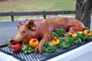 HOG ROAST AT FIRBECK