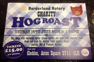 Borderland Rotary Club's Charity Hog Roast and More!