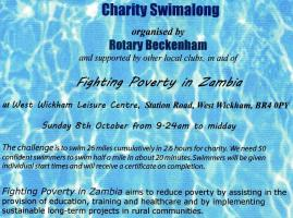 Charity Swimalong - 2017