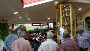Rotary Club of Grimsby visits Honda Racing HQ