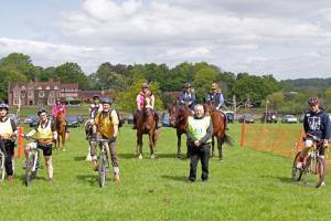 NEW FOREST ROTARY. HORSE OR CYCLE EVENT.