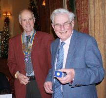 Dinner Guest Night - Hugh Ellison - 50 years in Rotary