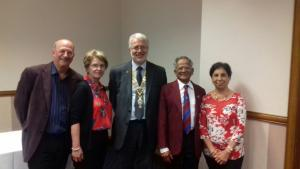 Visit to Stoke on Trent Rotary Club