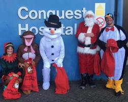 Christmas Day at the Conquest Hospital