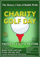 A ROTARY CHARITY GOLF DAY at BUILTH WELLS GOLF CLUB