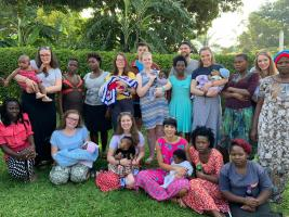 Roseanne Shirtliff tells us about her charity work in Uganda - September 2019