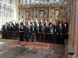 Bournemouth Male Voice Choir - Rotary Cotswold Tour