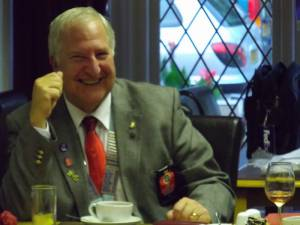 District Governor Visit