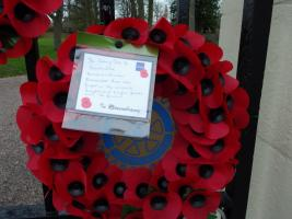 Remembrance Sunday Tribute - 2014