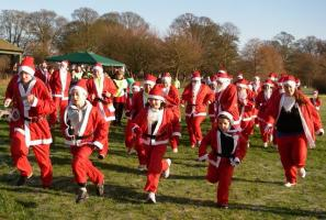 Charity Santa Fun Run 2012