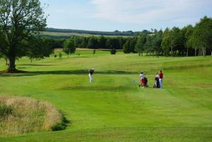 The 3rd Fairway at Duns Golf Club,