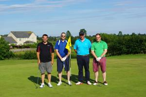 Annual Charity Golf Competition Results 2015, Winners The Black Bull Team