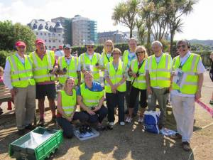 2014-06-01 Marshalling at the Race for Life