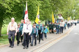 St George's Day Scouts Celebration