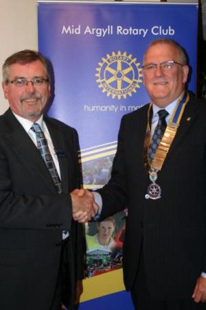 Rotarian of the Year 2012