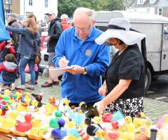 Another great Duck Race in the Dee