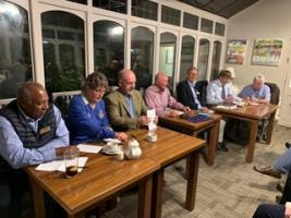 Quiz round with Barry Rotary Club
