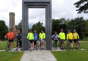 Club cycle ride to N.I.