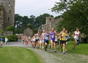 Slideshow of James Herriot Trail Run 2011 at Castle Bolton and around12K