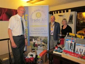 Trade Aid @ the International Day, April 2011