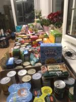 Donating Food to the Plymouth Food Bank