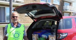 Bexhill Rotary Help the Foodbank
