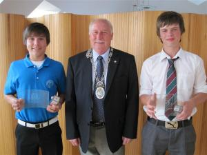 Report by Gordon Smillie on District Young Golfer @ Dunbar
