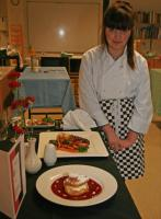 Jan 2012 Rotary Young Chef hosted by Comberton Village College