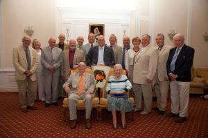 President's Summer Lunch and Farewell to John and Audrey Pargeter 2013