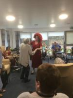 Dorset Gardens sheltered housing Christmas Party
