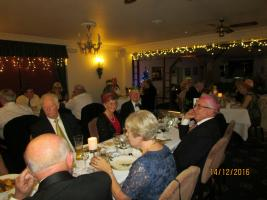 Christmas Party. Dining and dancing at Eypes Mouth Hotel