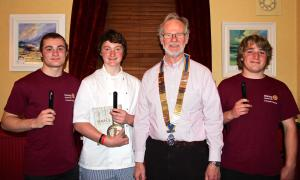 Rotary, Challenge Enterprise and the Young Chef