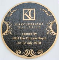 HRH The Princess Royal opens the Kirkcudbright Galleries