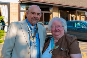 YORKSHIRE DISTRICT GOVERNOR VISITS