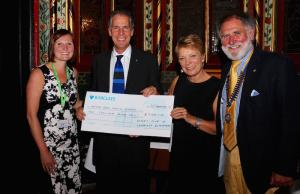 Rutherford supports Arthur Rank Hospice Charity