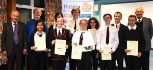 Rotary Youth Speaks 2016