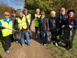 Pie and Litter Pick