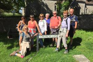 Rotary circular walk from Owermoigne to Winfrith
