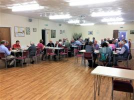 Quiz at Broome Village Hall with raffle made over £300.00